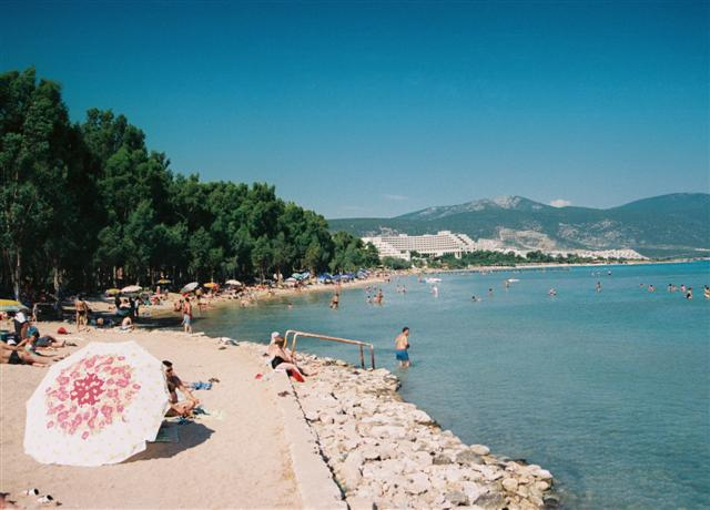 Altinkum and Akbuk Beaches