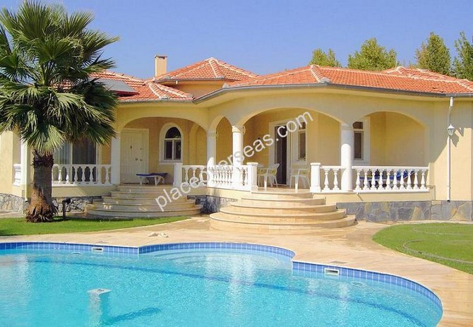 Bungalow in Akkaya Lake Dalaman with Private Pool 3 Bedrooms