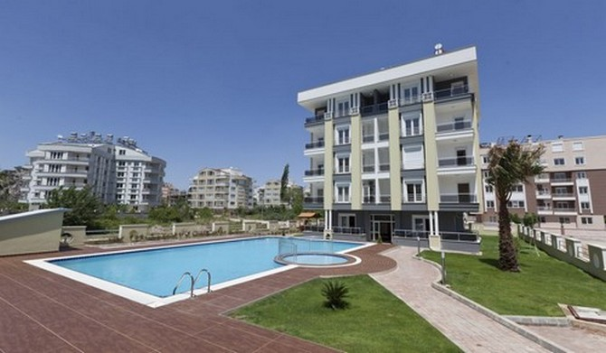 Spacious antalya apartments 2 bedroom for Apartment design guide part 2