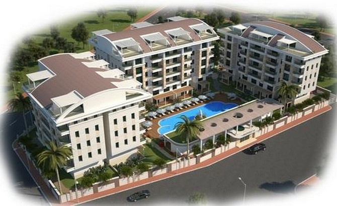 Off Plan Antalya City Apartment Rich Facilities 2 Bedroom