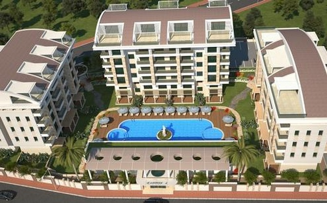 Antalya city apartments