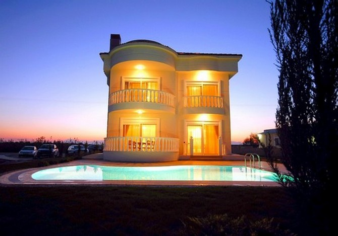Fully Furnished Spacious Private Belek Villa Near Golf Courses 4 Bedrooms