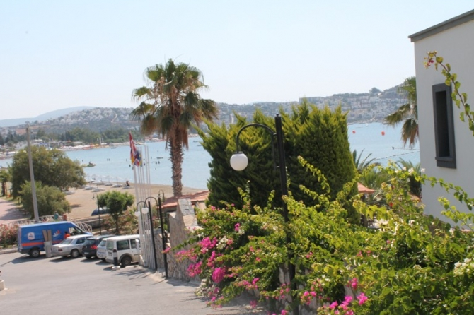 Beach Front 81 Room Hotel For sale in Bodrum Bitez