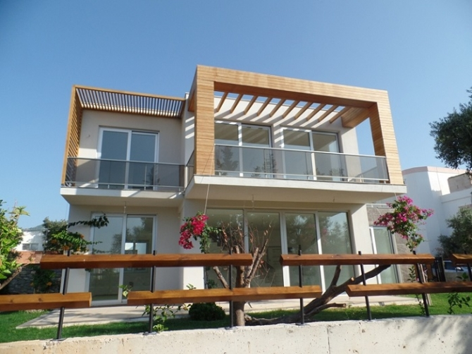 Modern Contemporary Villa With Stylish Fittings in Bodrum centre