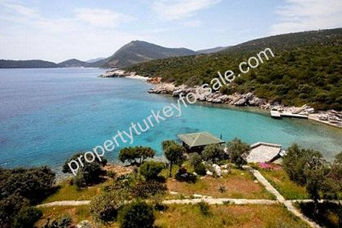 Bodrum Yaliciflik Villa with Private Bay