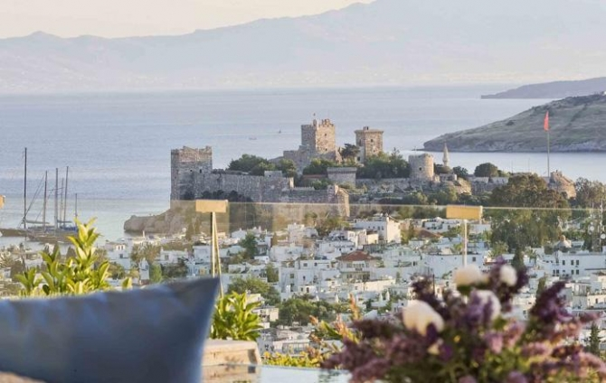 Villa Directly overlooking Bodrum Castle