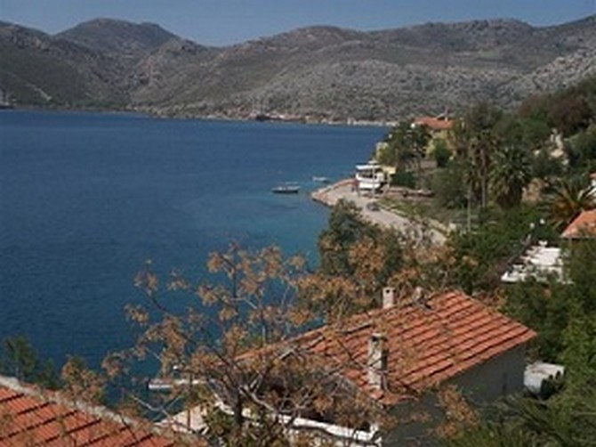Bozburun Villa with Excellent Sea View