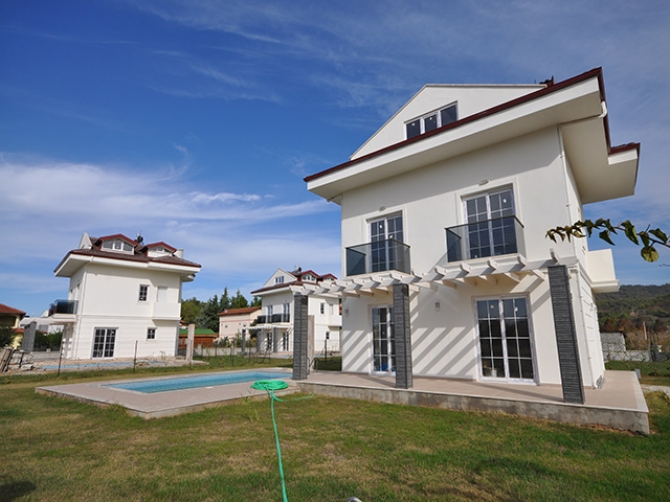 Newly Completed Villa Project Near to Calis Beach