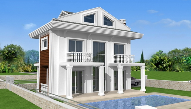 Brand New Off Plan Villa Project in Calis