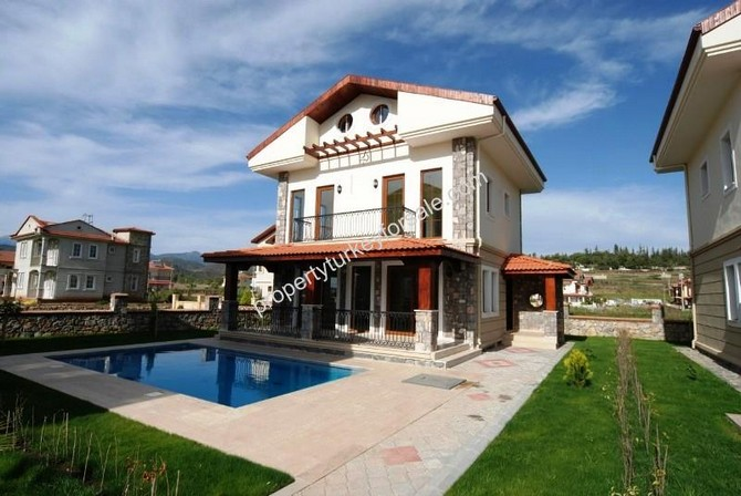 Spacious Villa in Fethiye Calis Beach with Private Pool 4 Bedrooms