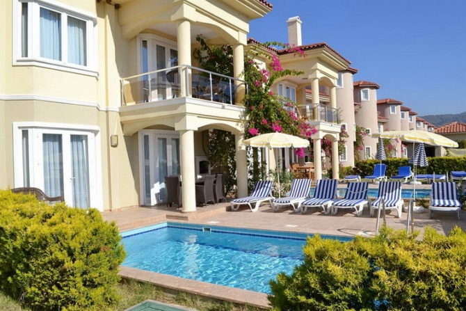 Luxury Villa on Seafront Calis Fethiye