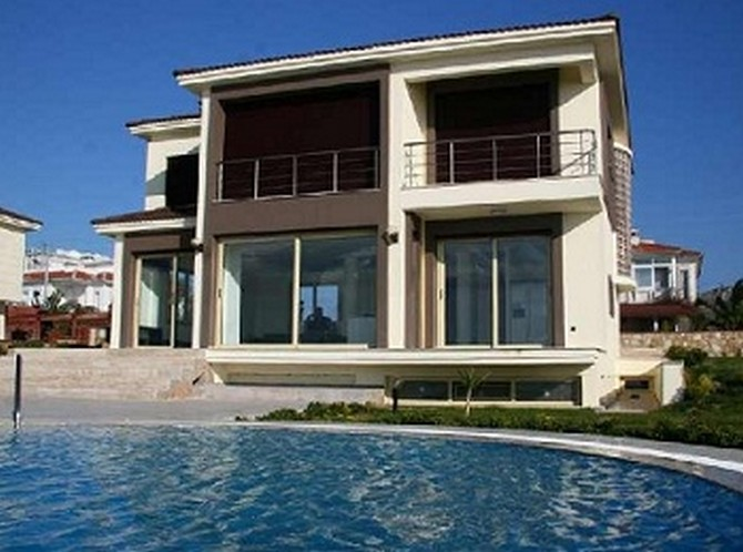 Seafront Cesme Villa Private Beach 4 Bedrooms for sale