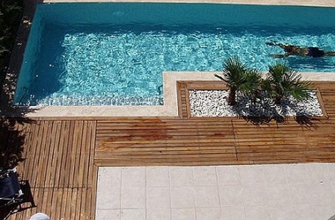 Private Swimming Pool and Terrace Area