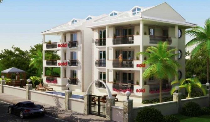 Dalaman Apartment 2 Bedrooms for sale