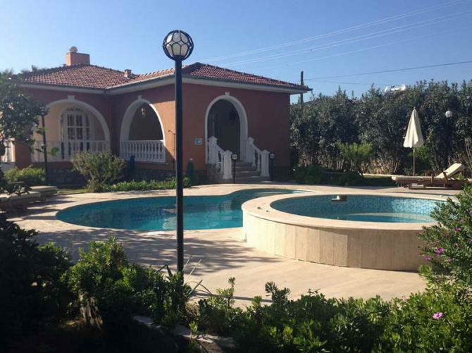 Detached Bungalow with Private Pool in Dalaman