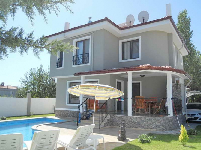 Modern Fully Furnished Villa with Pool in Dalaman