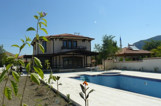 Villa with a Pool View