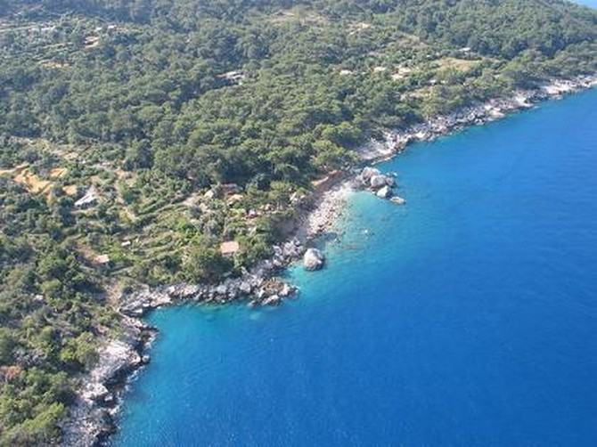 Seafront Faralya Land for Sale near Oludeniz