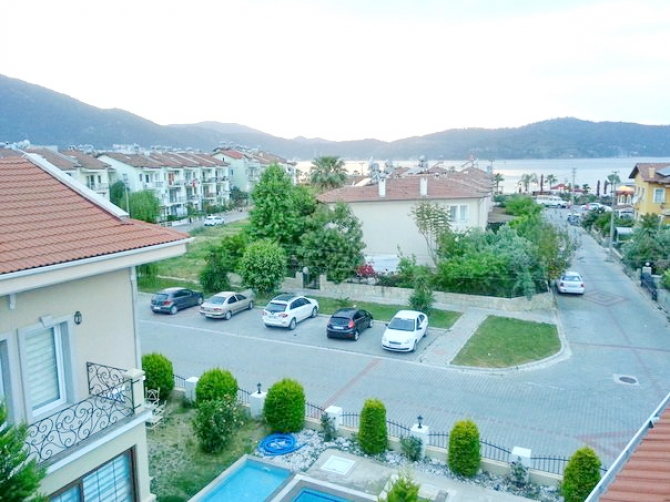 Spectacular Triplex Apartment in Fethiye With Sea View