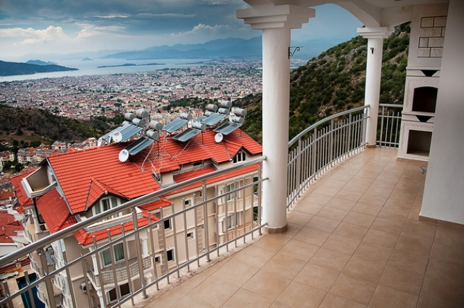 3 Bedroom Duplex Apartment With Sea View - Tasyaka / Fethiye
