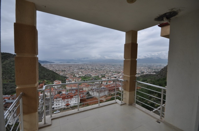 Bargain Duplex Apartment With Sea View, Fethiye
