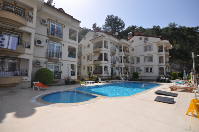 Ground Floor Fethiye Apartment For Sale