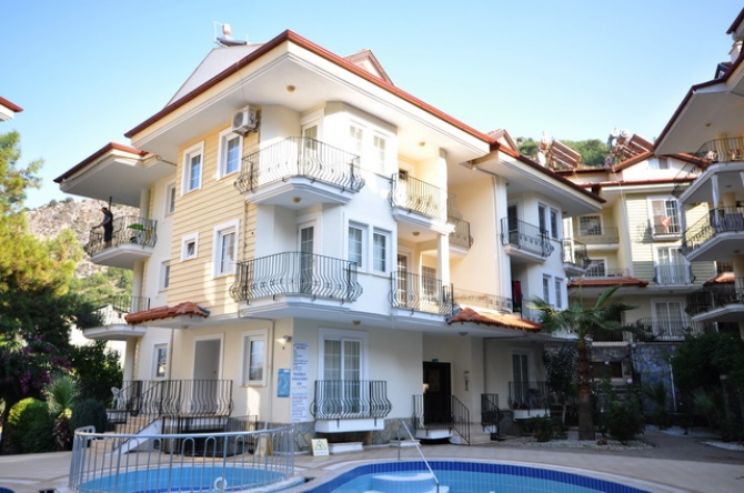 Fully Furnished Fethiye Apartment in an Elevated Location