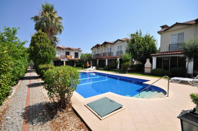 Refurbished Semi Detached Villa in Fethiye
