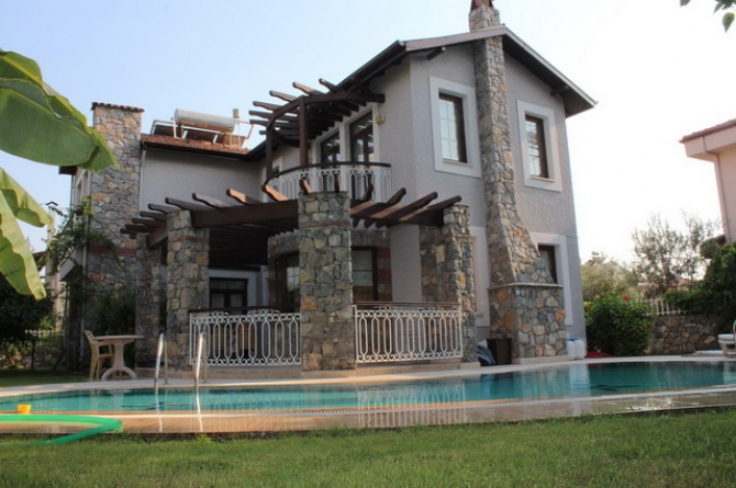Detached Villa Located Within Walking Distance To Fethiye
