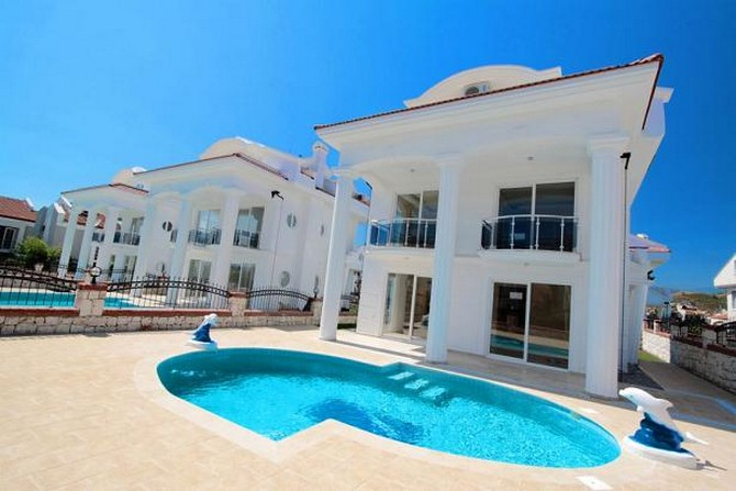 All villas have their own private pools