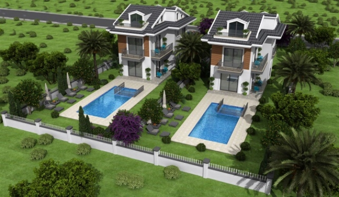 Luxury Villas in Gocek