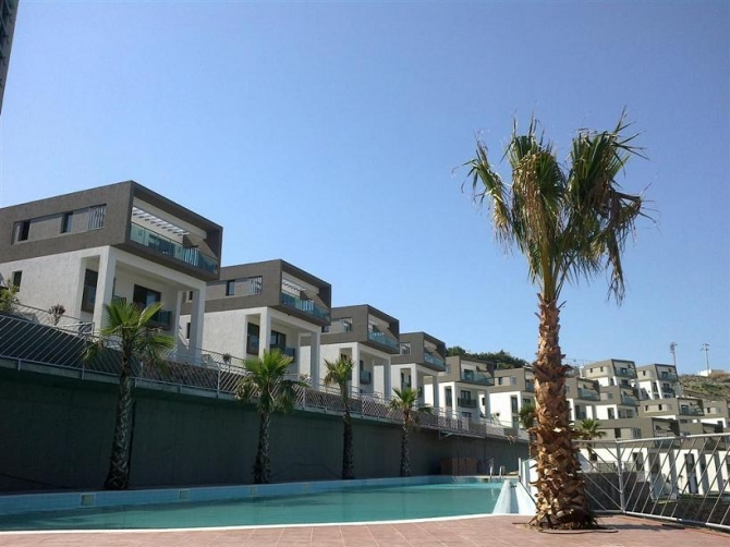 Complex located in Bodrum Gundogan