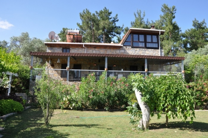 A Stone Built Mountain House near Bodrum