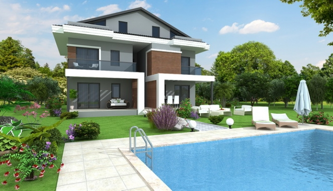 Brand New 1&2 Bedroom Apartments with Pool in Hisaronu