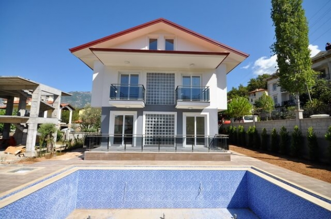 Brand new detached luxury villas in centre of Hisaronu