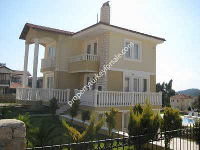 Detached Hisaronu Villa with Private Pool 4 Bedrooms for sale