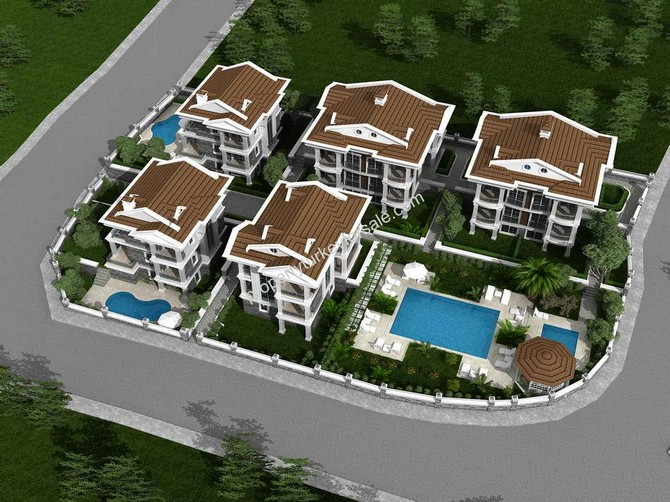 2 Detached Villas & 10 Apartments