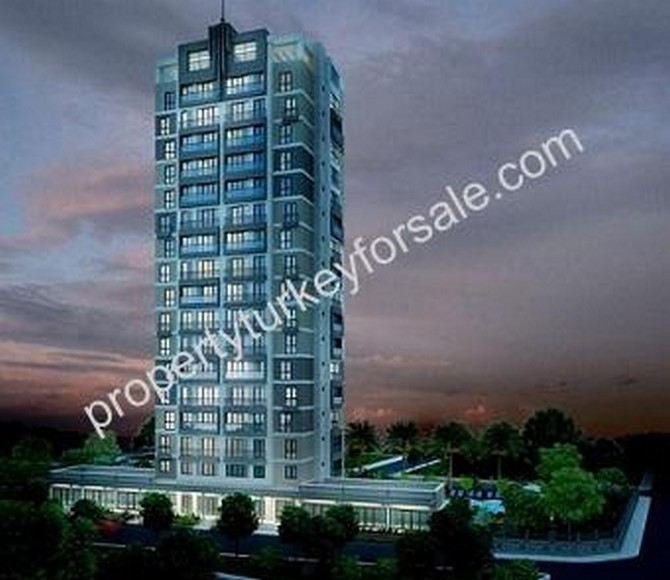 Luxury Apartments in Atasehir for Istanbul Professionals 2 Bedrooms for sale