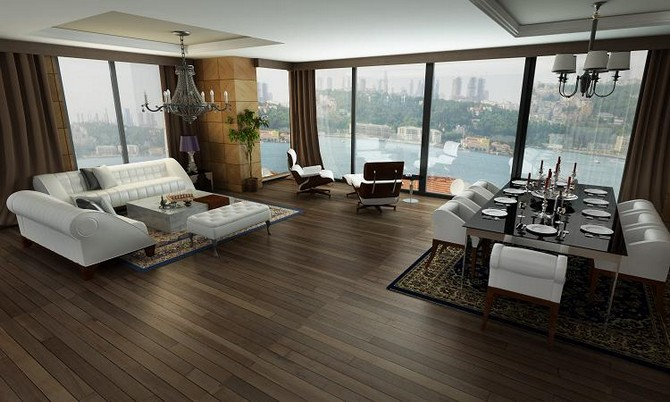 Istanbul Bosphorus Penthouse with full Sea View 4 Bedrooms for sale