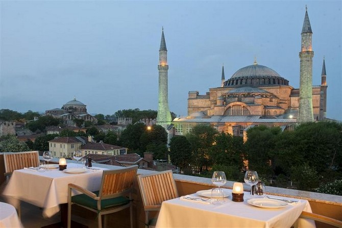 In the heart of Istanbul