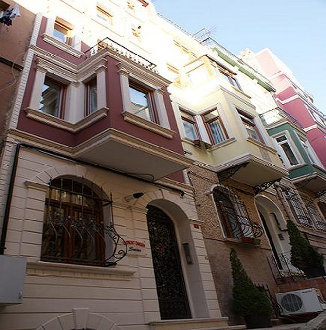 Taksim hotel suites 5 self contained apartments for Cube suites istanbul