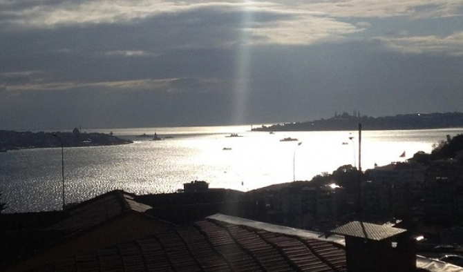 Istanbul Ortakoy Apartment with Excellent Location