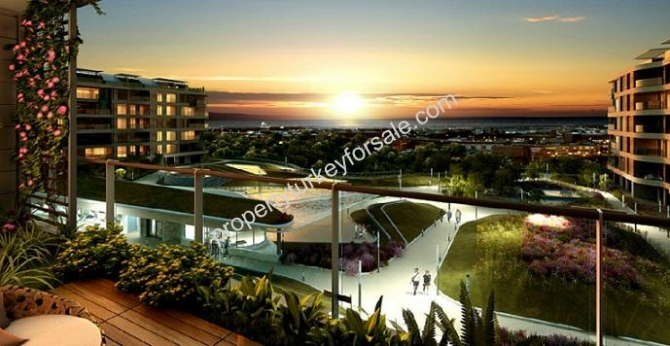 Istanbul Apartments with Excellent Sea View