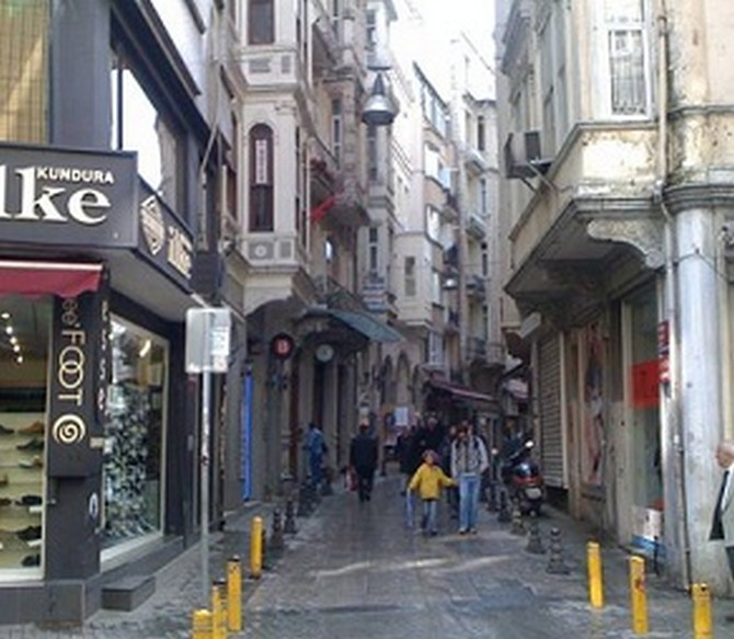 Historic Istanbul Taksim Property to Renovate