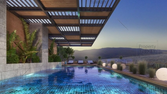 Close to sea modern properties in Izmir Turkey