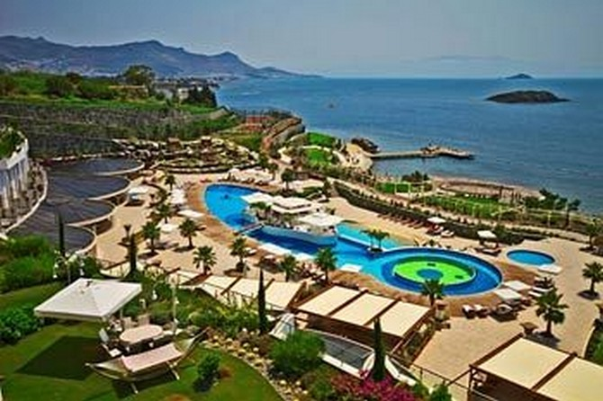 Property In Bodrum Within 5 Star Hotel Complex