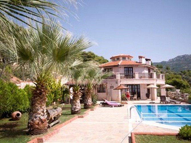 Private Kalkan Property with Guest Houses 10 Bedrooms for sale