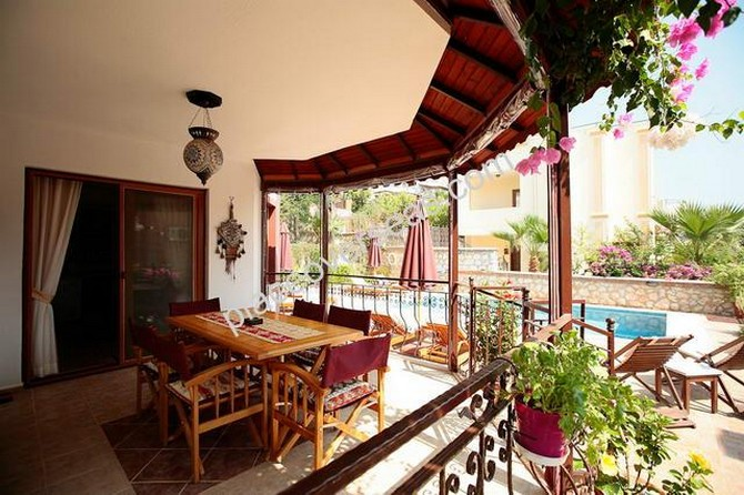 Resale Kalkan Villa Fully Furnished 3 Bedrooms