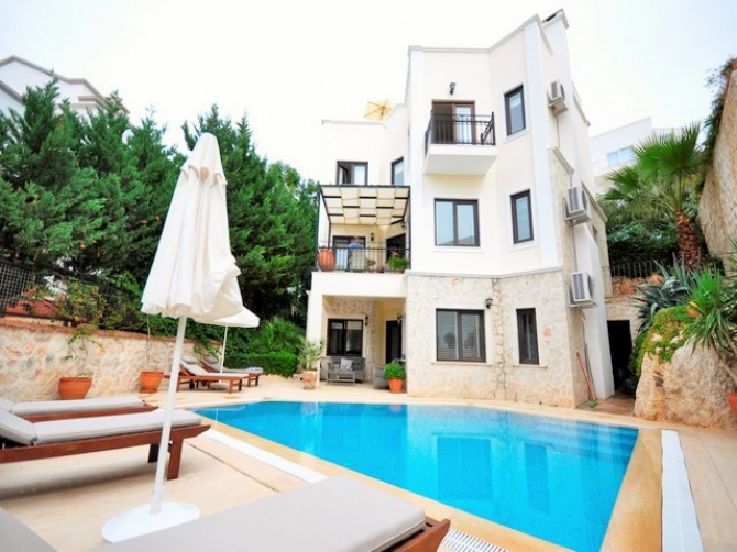 Great Villa With Sea Views in Kalamar Kalkan