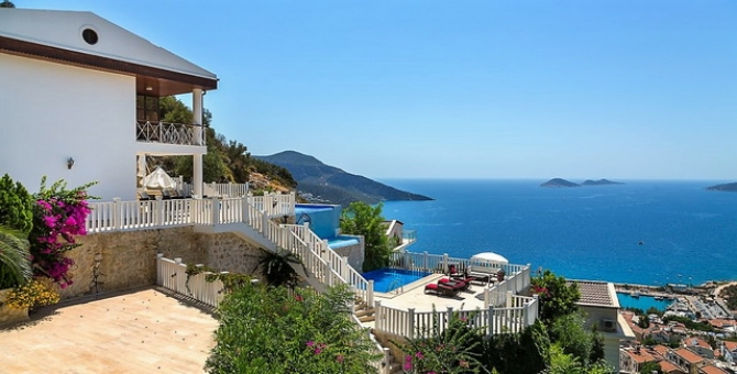 Exclusive Kalkan Villa With Panaromic Sea View